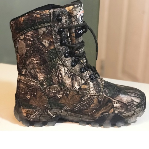 7f8a90337e6 Waterproof Hunting Boots Men's 8